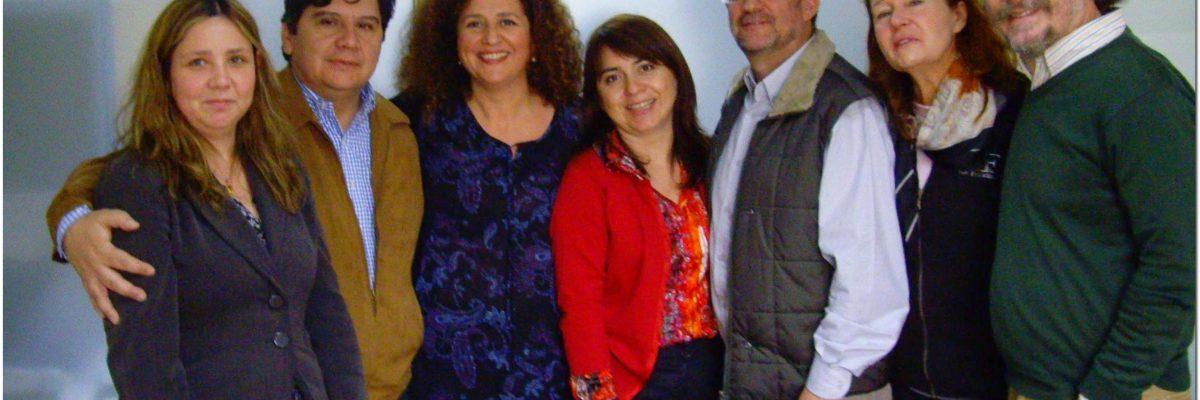 Team bei der Flacso-Chile