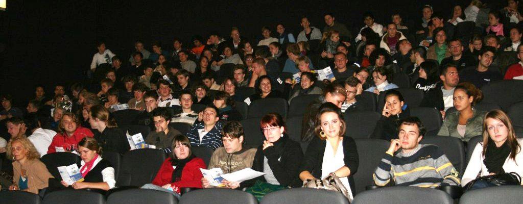 185 interessierte SchülerInnen im Cinekarree Aachen